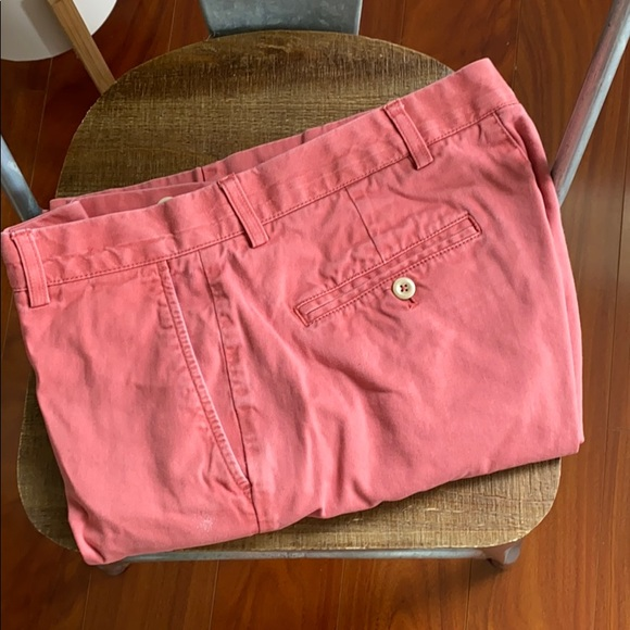 Roundtree & Yorke Other - Salmon Shorts